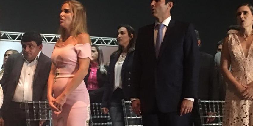 Secretária de Governo participa da posse de Helder Barbalho