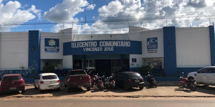 Telecentro de Redenção oferece tecnologia avançada