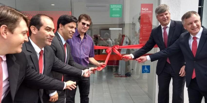 Santander inaugura agência em Redenção