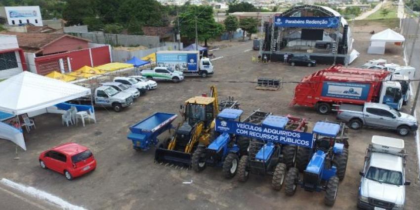 Frota de veículos novos da prefeitura aumenta a cada dia