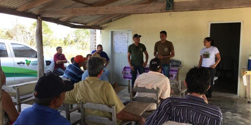 SEMMA REALIZA CAMPANHA EDUCATIVA CONTRA QUEIMADA NA COMUNIDADE NOSSA SENHORA APARECIDA