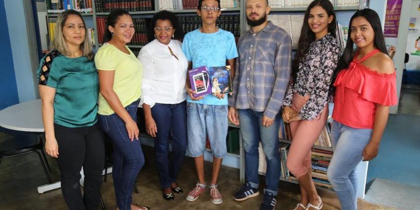 Aluno da Biblioteca de Redenção fica em 2º lugar em concurso nacional