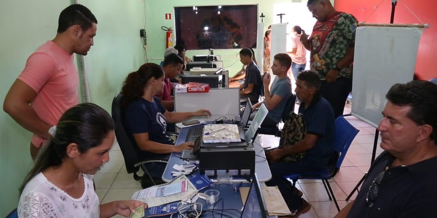 Prefeitura de Redenção e MT viabilizam emissão de Carteira de Trabalho