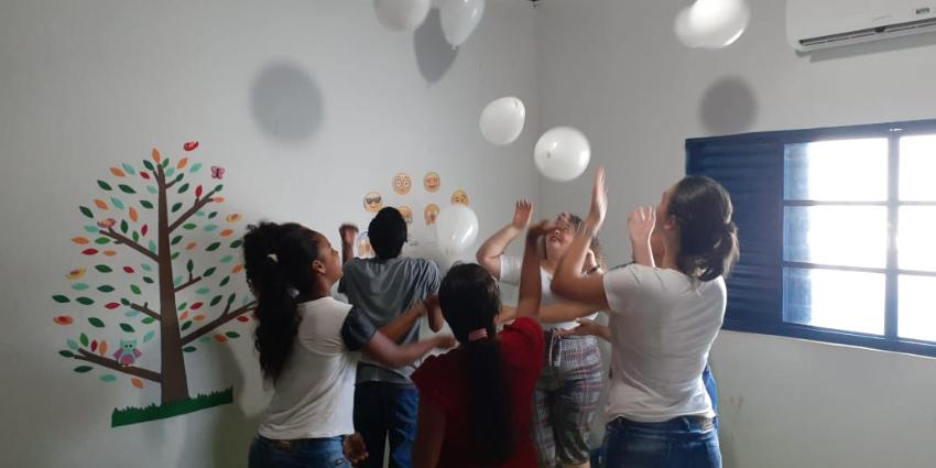 Campanha sobre Janeiro Branco é realizada pelo Creas de Redenção
