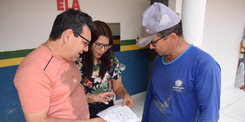 Secretaria de Educação segue realizando obras nas unidades de ensino