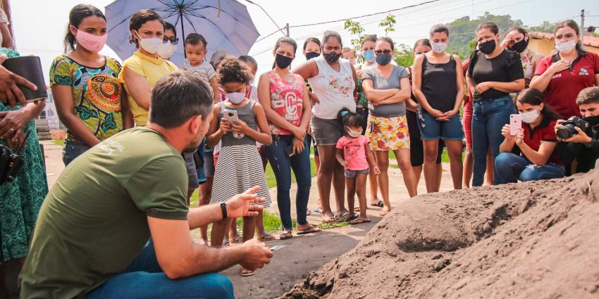 Famílias do setor Primavera são incentivadas implantar Horta Vertical