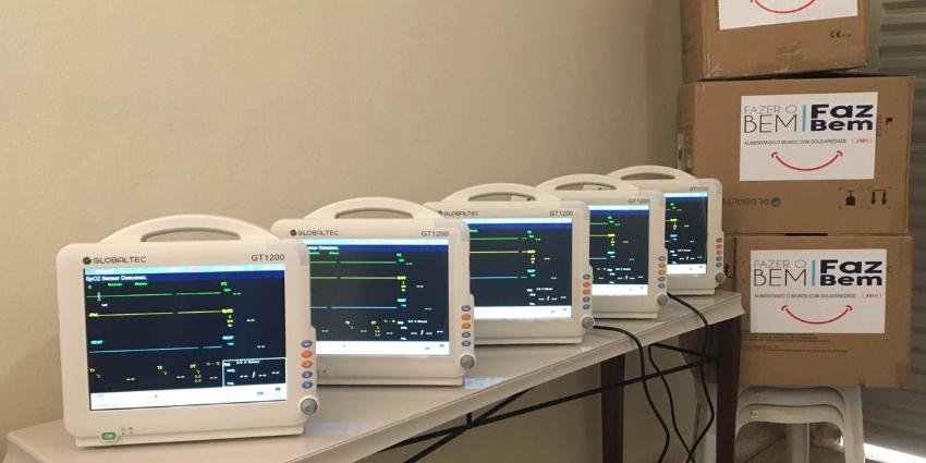 JBS doa monitores multiparamétricos para saúde