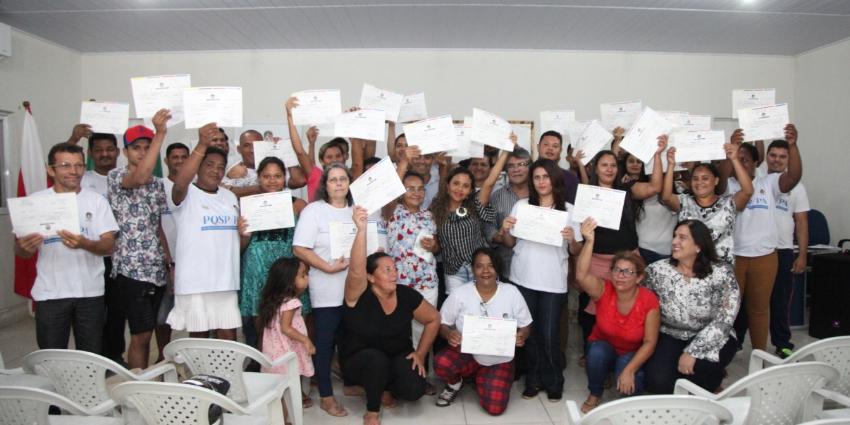 Moradores de Redenção recebem qualificação profissional gratuita