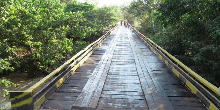 Ponte do Rio Pau D'arcão é revitalizada