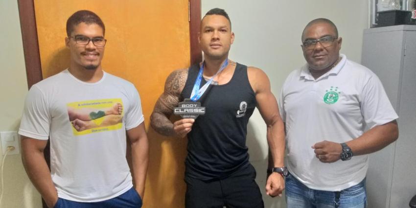 Atleta  de fisiculturismo representa Redenção em Goiás
