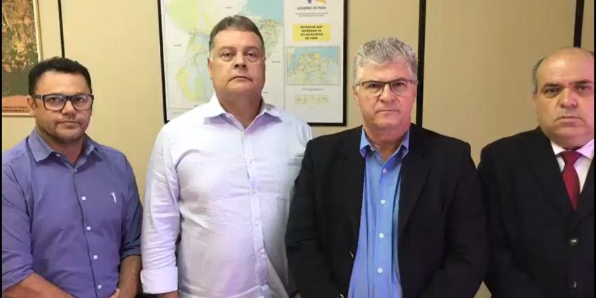 Prefeito apresenta demandas na Setran para conclusão da Av. Araguaia