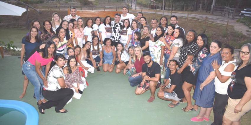 Secretaria de Educação, Cultura e Lazer realiza festa em homenagem ao Coordenador Pedagógico