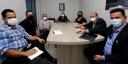 Prefeito de Redenção reúne com equipe do Banco do Brasil