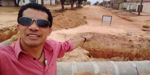 Av. Benjamin Guimarães será toda asfaltada