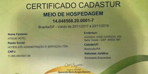 Prefeitura entrega certificados do CADASTUR para empresas do setor turístico