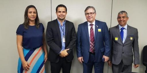 Secretária de governo cumpre agenda em Brasília