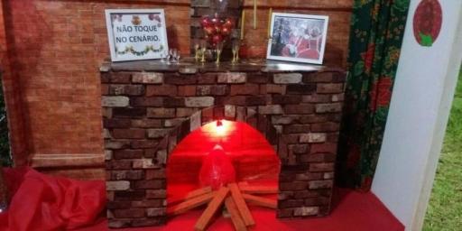 A adorável Casa do Papai Noel