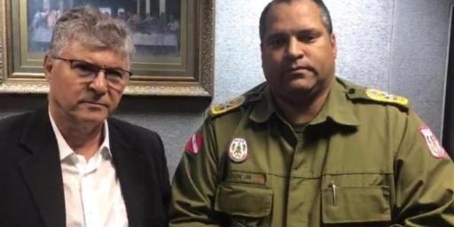 Prefeito Iavé se reúne com Comandante Geral da PM
