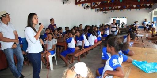 Secretaria Municipal de Saúde realiza ação do Programa Saúde na Escola
