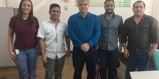 Prefeito visita sede da Sudam em Belém