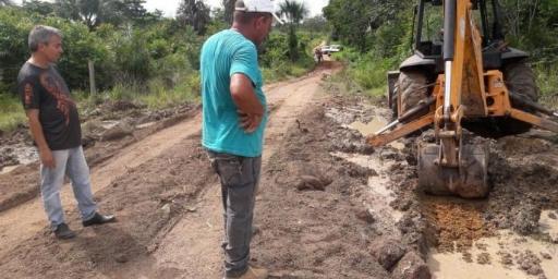 Região do Novo Projeto recebe infraestrutura