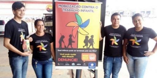 Assistência Social fez campanha educativa contra o trabalho infantil