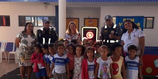 DMTT realiza nas escolas campanha de educação no trânsito