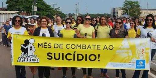 Redenção realiza I Caminhada de Combate ao Suicídio