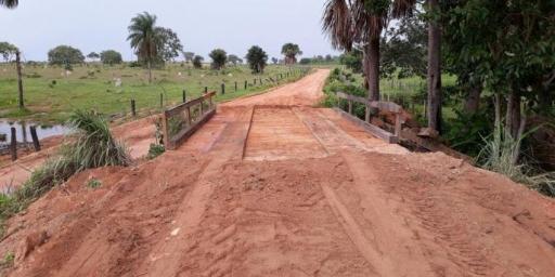 Estrada da Retirolândia ganha ponte nova