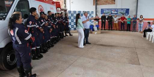 SAMU de Redenção recebe ambulância nova