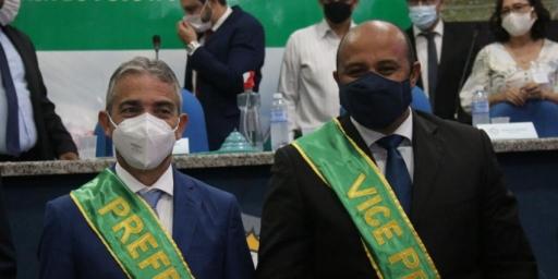Prefeito, vice e vereadores de Redenção foram empossados para mandatos de 4 anos