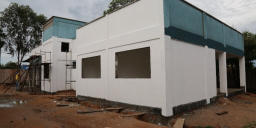 Nova sede do CREAS quase concluída