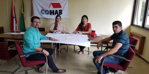 IPPUR e COHAB avançam com o processo da Regularização Fundiária