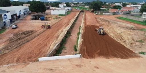 Obras do canal central seguem adiantadas do prazo