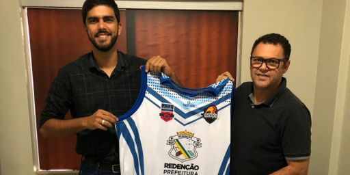 Secretaria de Esportes apoia Seleção de Basquete