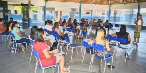 Reunião com Técnicos de Suporte Pedagógico acerta detalhes para volta às aulas presenciais