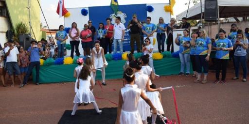 Desfile Cívico no setor Morada da Paz encanta o público