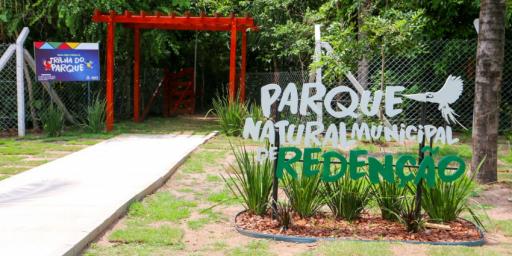 Parque Ambiental de Redenção oferece lazer e qualidade de vida para a população