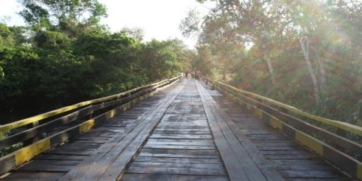 Prefeitura de Redenção conclui reconstrução da ponte do Paudarcão