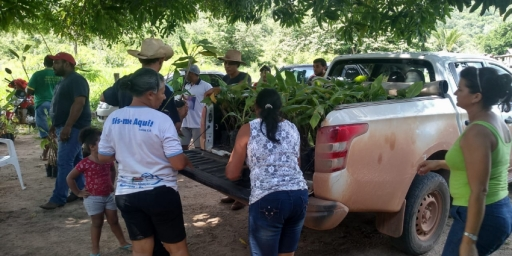 Secretaria de Agropecuária desenvolve ações na zona rural