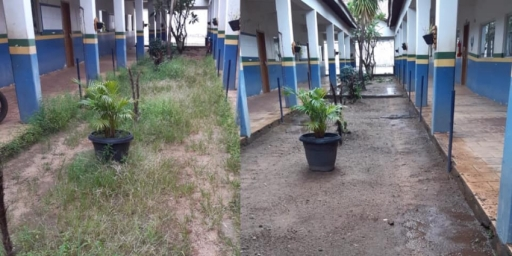 Escolas Municipais passam por limpeza para receber estudantes