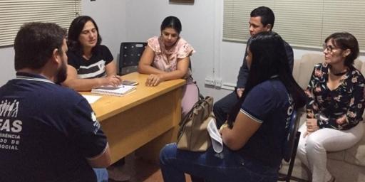 Prefeitura de Redenção ampara famílias venezuelanas refugiadas