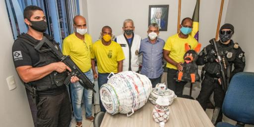 Detentos do presídio de Redenção participam do projeto Origami