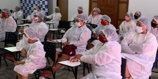 PTTS promove curso de panificação