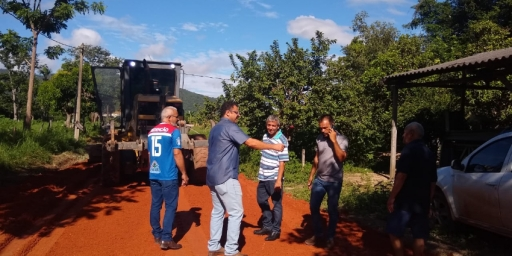 Setor Aripuanã recebe ações da Prefeitura