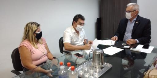 Em Belém, Secretário Prof. Vanderly Moreira assina acordo de cooperação técnica com a Secretaria de Administração Penitenciária