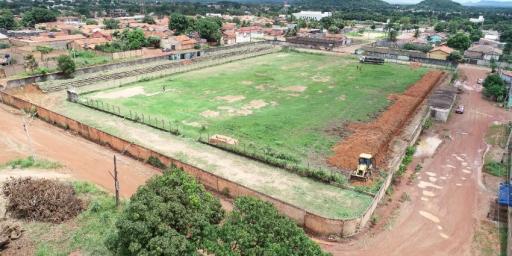 Começou a obra de reconstrução do estádio Alto Paraná