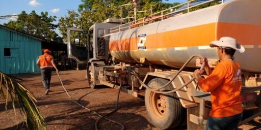 Defesa Civil de Redenção retoma abastecimento de água no PA Cabeceiras
