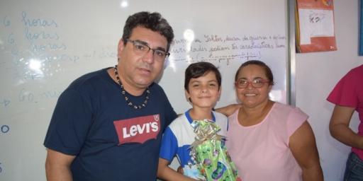 Aluno da Rede Municipal de Ensino vence Olimpíada da Língua Portuguesa