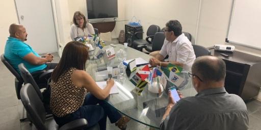 Secretário de Educação Vanderly Moreira participa de reunião em Belém